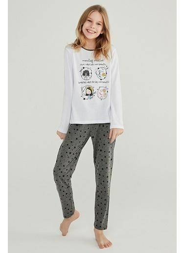 Penti Teen Routine 2Li Pijama Takımı Renkli